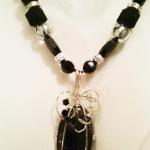 Black Tourmalated Quartz - $95