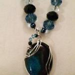 Blue Black Quartz - $50